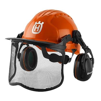 18da6aa3 Amazon.com : Husqvarna 592752602 Forest Helmet, Orange : Garden & Outdoor