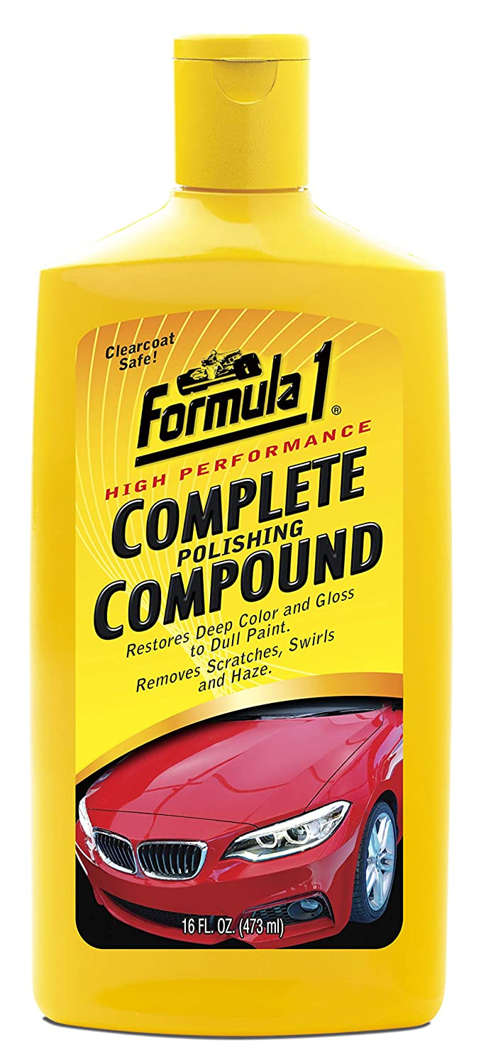 Formula 1 High-Performance Complete Polishing Compound – Restores Color and Gloss 615112