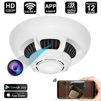 b594162ddb2 Spy Hidden Camera 2.4G WiFi Hidden Camera with Motion Detection Wireless  Mini Video Recorder for