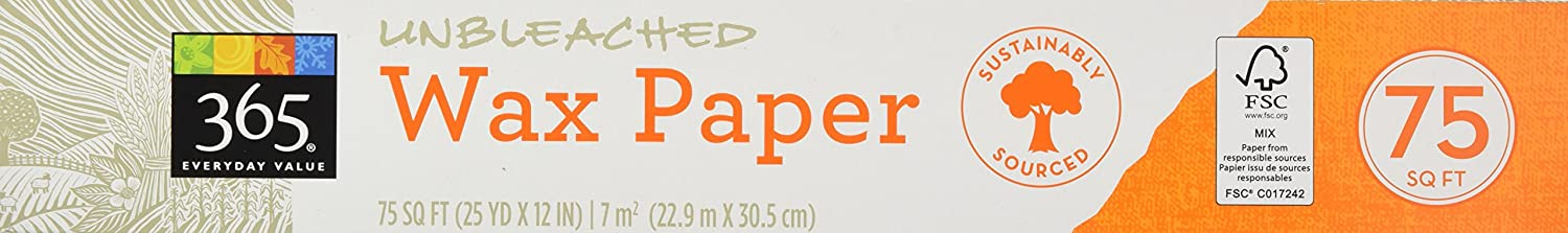 365 Everyday Value Wax Paper, 75 sq ft Whole Foods Market 070807