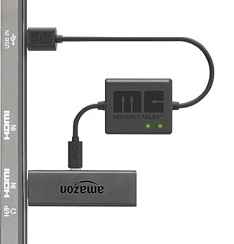 Mission Cables USB Stromkabel (für Fire TV Stick) schwarz: Amazon.de ...