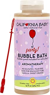 product image for California Baby Party Bubble Bath (13 oz) Made with Skin Friendly, Plant-Based Bubbling Ingredients That Create Tons of Bubbles. Gentle on Sensitive Skin and Eczema
