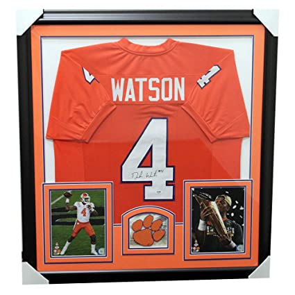 f9df85be046 Image Unavailable. Image not available for. Color: Deshaun Watson Clemson  Tigers ...