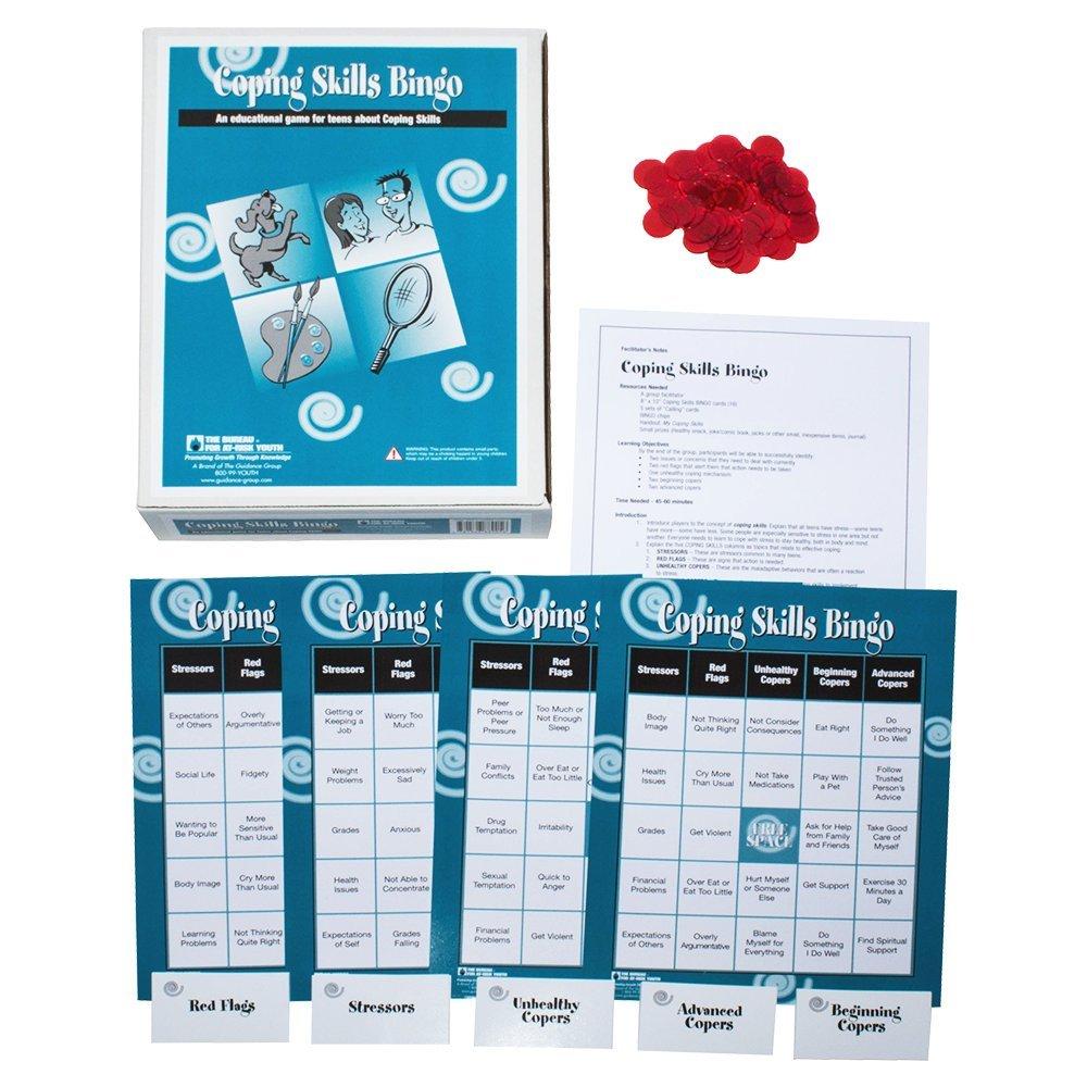 Amazon.com: Coping Skills Bingo: Toys & Games