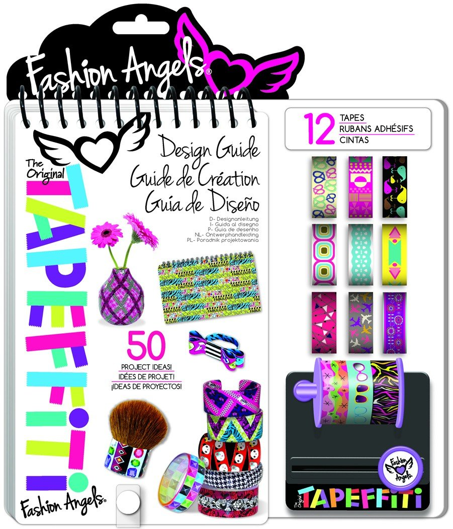 Fashion Angels Tapeffiti Design Guide Refresh Fall 2016 Multi Color Amazon In Office Products
