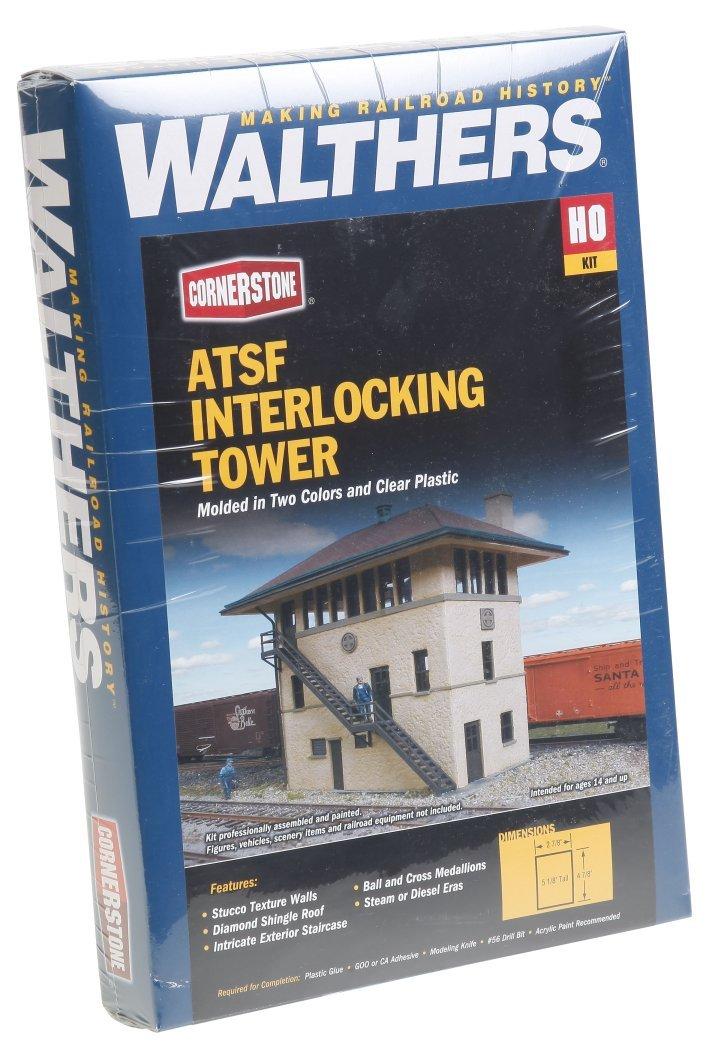 Walthers Cornerstone 933-2983 - Stellwerk Santa Fe, Gebäude