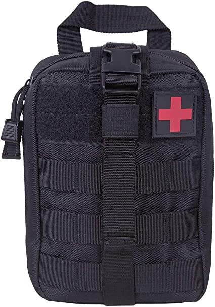 Outdoor First Aid Kit Pouch Tactical MOLLE Medical Scissors Bag kit Pouch