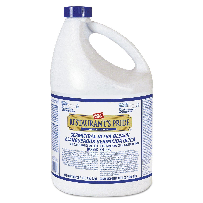 Restaurant's Pride 11005918431 Germicidal Bleach 1 gal Bottle 3/Carton