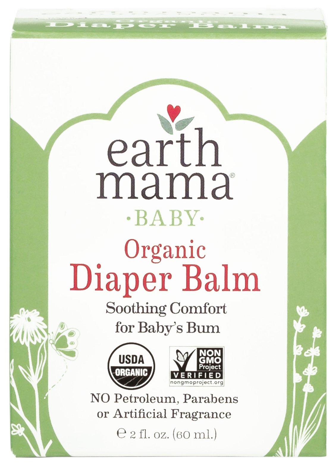 Earth Mama Angel Baby Bottom Balm, 2-Ounce