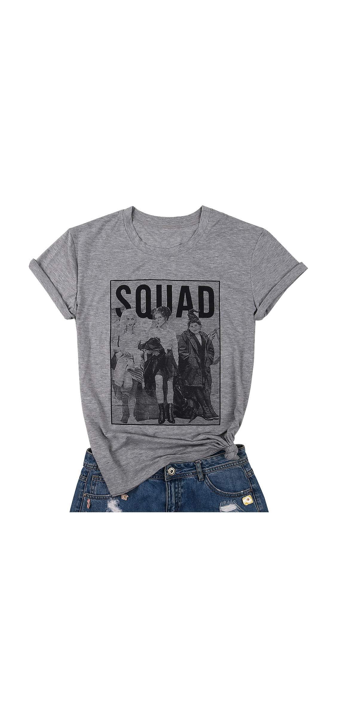 Sanderson Sisters Squad Cute T Shirt Halloween Graphic