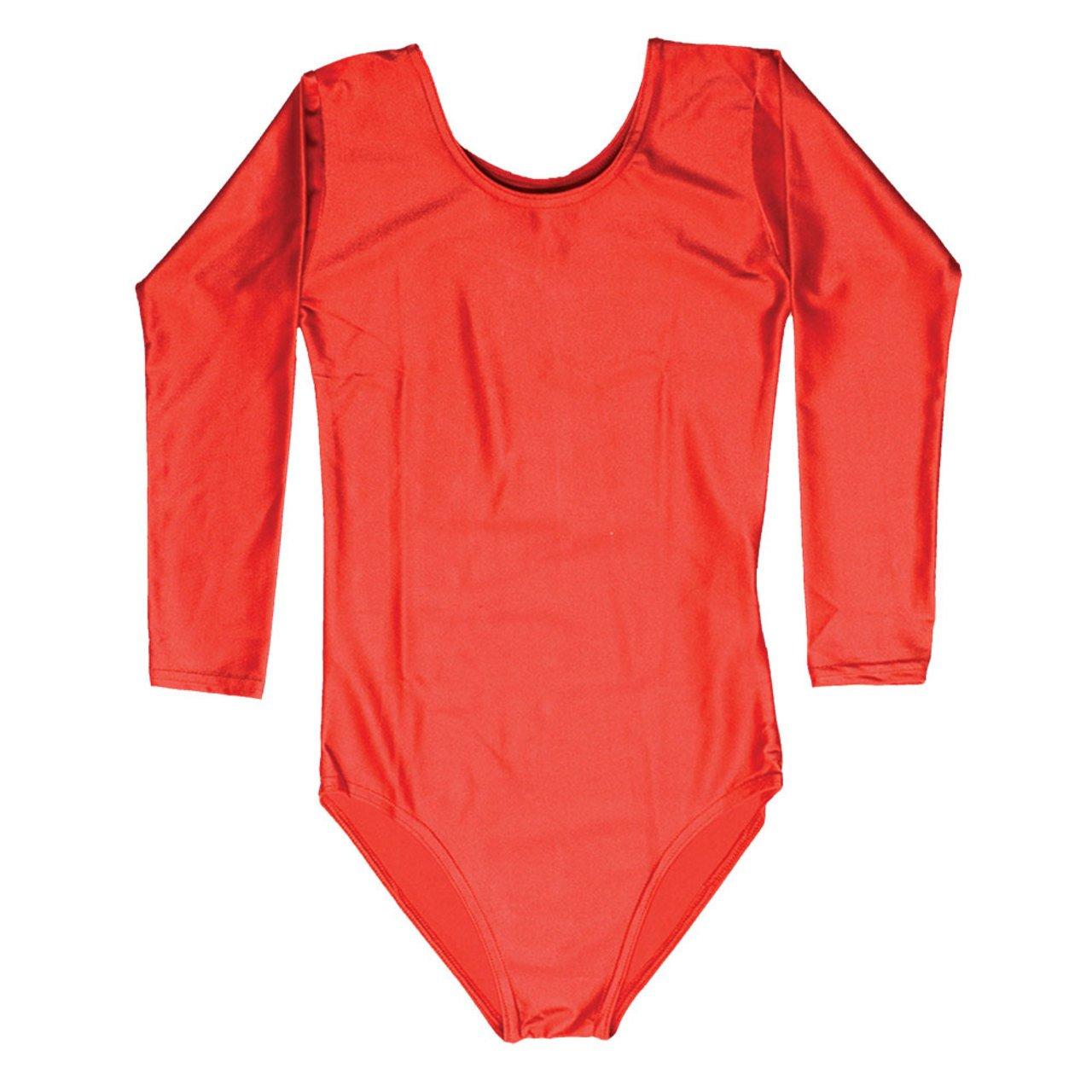 School Uniform Girls 3/4 Sleeve Lycra Leotard Stretch 24