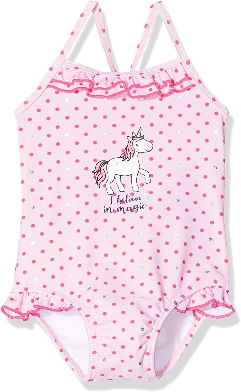 SALT AND PEPPER Baby/_Girls 03231210 One Piece Swimsuit Pink 12-18 Months Soft Pink 824