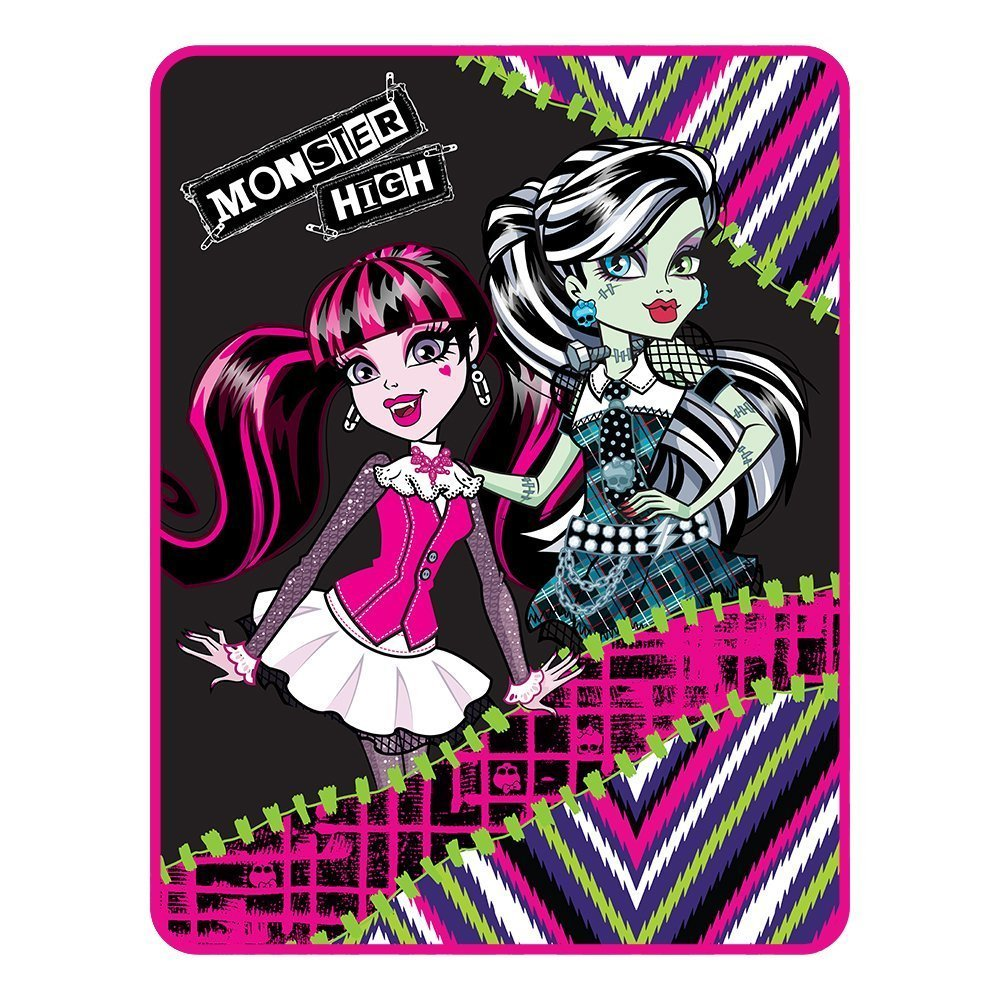 Mattel Monster High My Best Ghouls Throw Micro Raschel Blanket