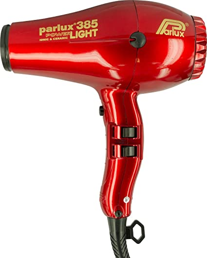 Parlux Power Light 385 secador, color rojo
