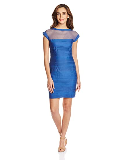Mysterious Miss Women's Cotton Body Con Dress Dresses at amazon