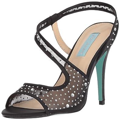 a2115aa800a Amazon.com  Blue by Betsey Johnson Women s Sb-fey Heeled Sandal  Shoes