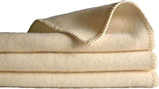 """product image for Sustainable Fine Wool Blanket/Throw (48"""" X 65"""")"""