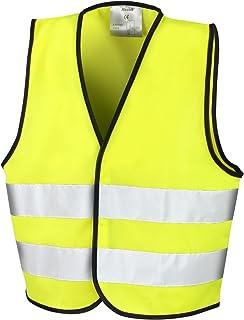 Risultato Core R200J-Giubbotto di sicurezza per bambini, colore: giallo fluorescente Result Core