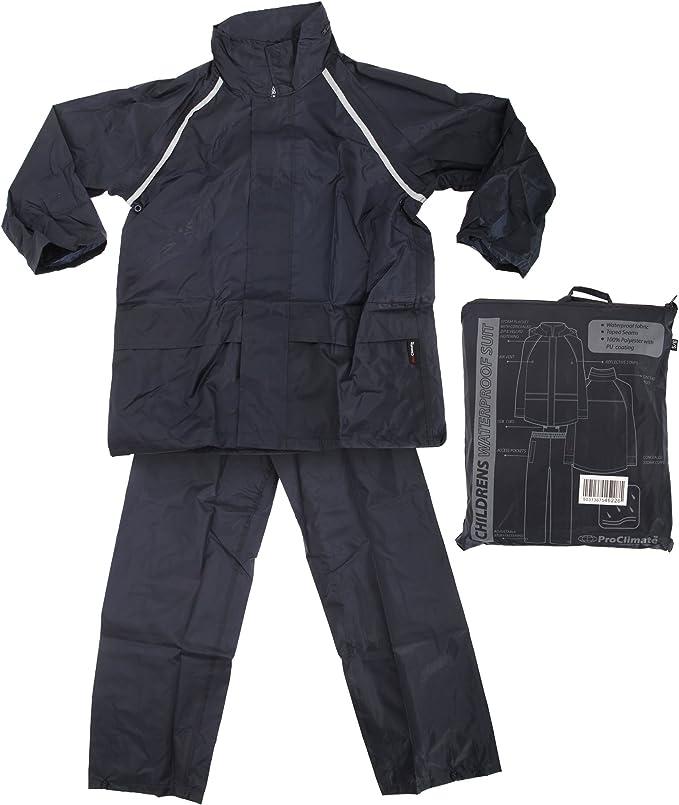 Amazon.com: ProClimate para niños impermeable lluvia traje ...