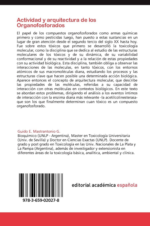 Actividad y arquitectura de los Organofosforados: Una ...