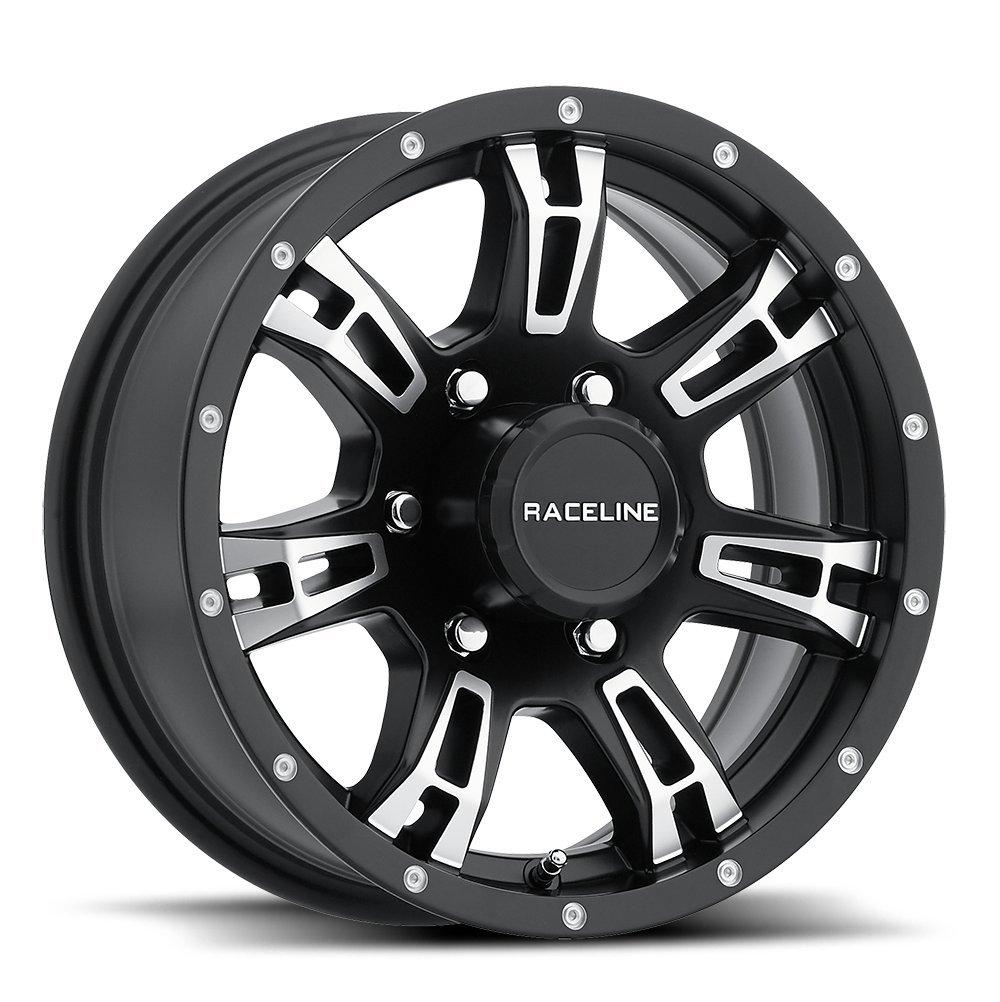 15x6 840 Arsenal Aluminum Trailer Wheel 6x5.50