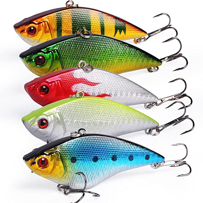 Best Fishing Lure : Sougayilang Fishing Lures Large Hard Bait Minnow VIB Lure
