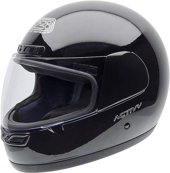 Nzi Activy Motorradhelm 150244g046 Schwarz 58 59 L Auto