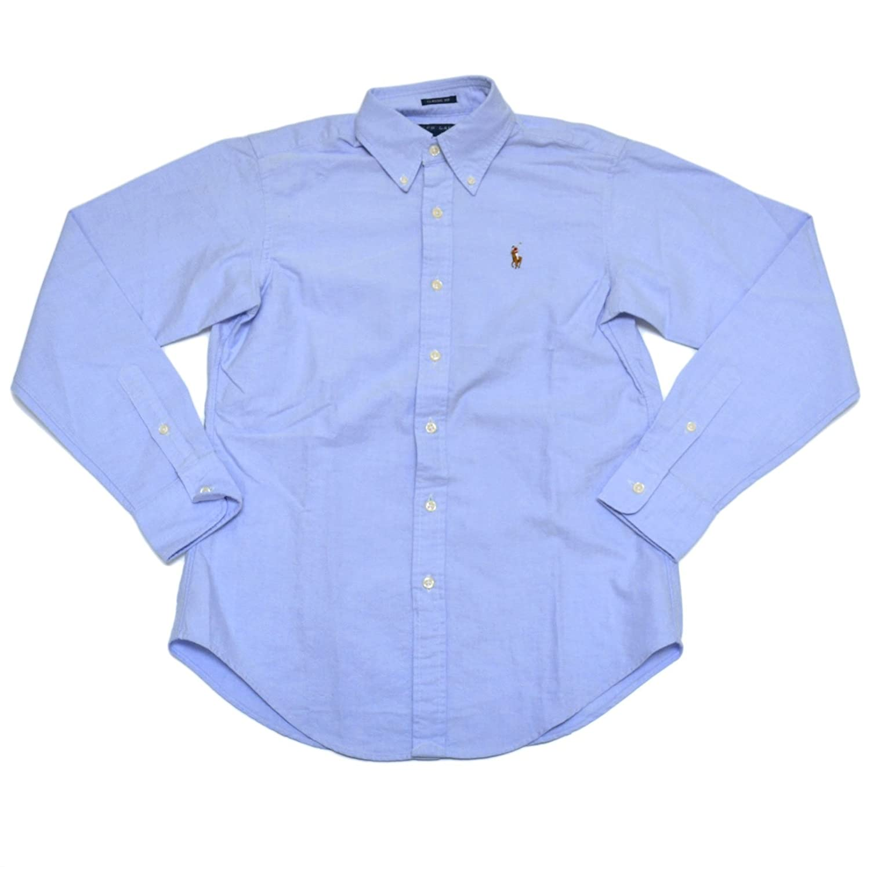 Amazon.com: Ralph Lauren Womens Oxford Classic Fit Button Down Dress Shirt:  Clothing