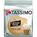 TASSIMO Grand'Mère Café au Lait 16 Disc - Lot de 5 (80 Disc)