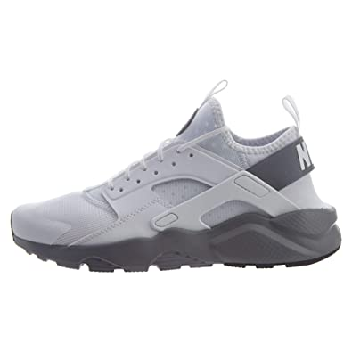 zamówienie online niska cena tanie z rabatem Nike Mens Huarache Run Ultra Running Shoes White/Cool Grey 819685-103 Size  9.5
