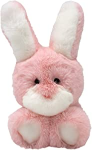 World's Softest Plush: 9 inch Pink Bunny Stuffed Animal