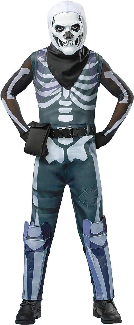 Fortnite Skull Trooper Tween Boys Costume