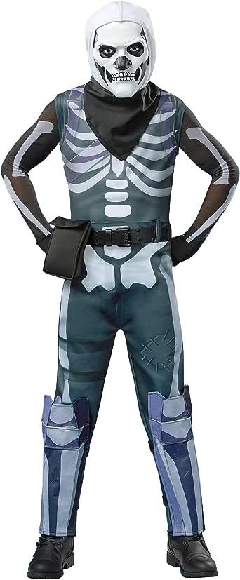 Spirit Halloween Boys Skull Trooper Fortnite Costume | Officially Licensed