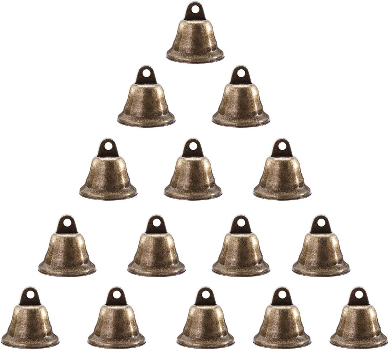Anjing 10 St/ück Styropor-Glocken zum Verzieren von Weihnachtsbaum-H/ängen f/ür Kinder