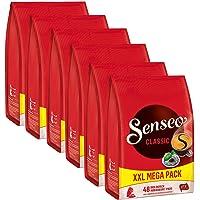 Senseo Koffiepads klassiek, intensief & vol, nieuw design, 6 x 48 pads, 288 porties