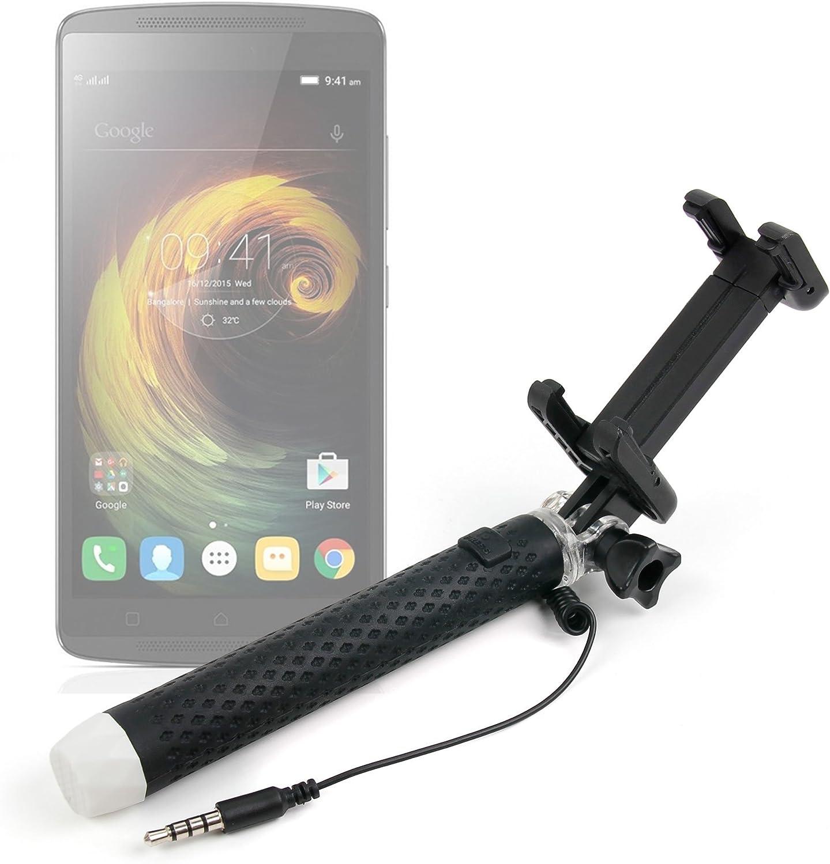 DURAGADGET Exclusivo Palo Selfie (Selfie-Stick) Extensible para Smartphones Lenovo K4 Note/Vibe S1 Lite / K5 Note/Moto G4 / G4 Plus / G4 Play: Amazon.es: Electrónica