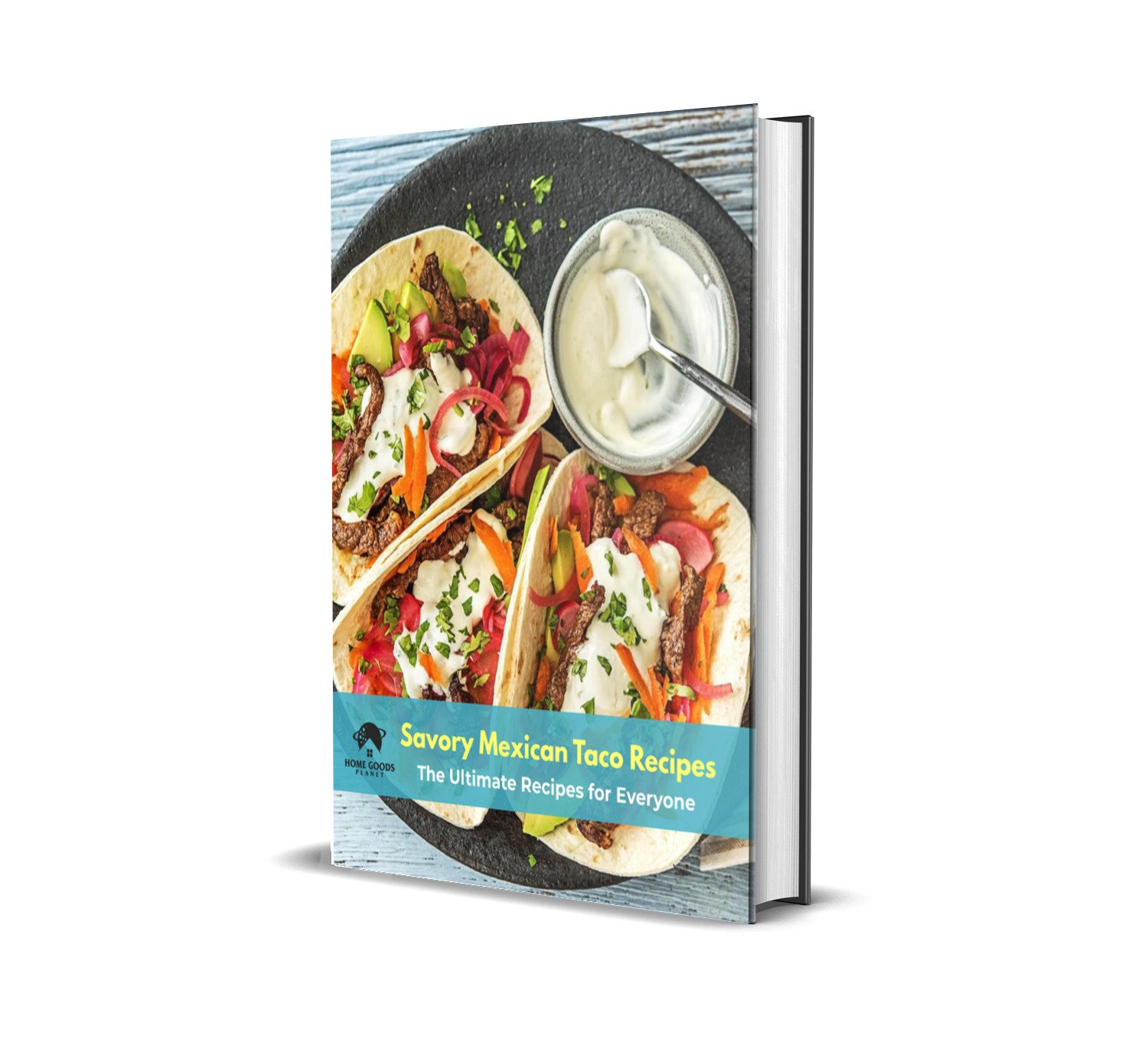 Taco Holder - Set of 2 Shell Racks - Stainless Steel Durable Taco Stand Tray - Ideal for Hard or Soft Shell Tacos - Oven & Dishwasher Safe Tacos Serving Tray or Taco Platter - Includes Recipe e-book by Home Goods Planet (Image #7)