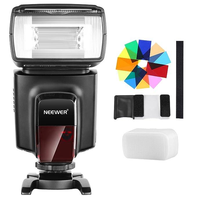 97 opinioni per Neewer TT560 Kit Speedlite Flash con 12 filtri colorati e kit di diffusori