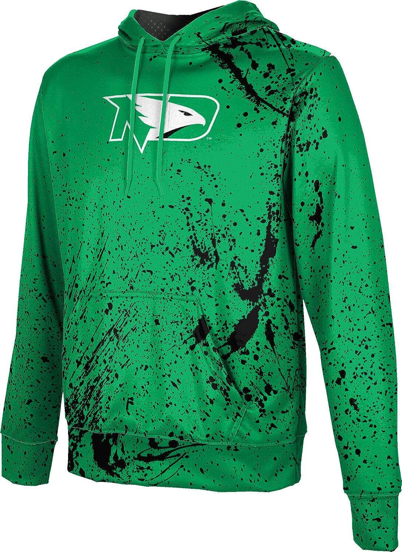School Spirit Sweatshirt University of North Dakota Boys Pullover Hoodie Splatter