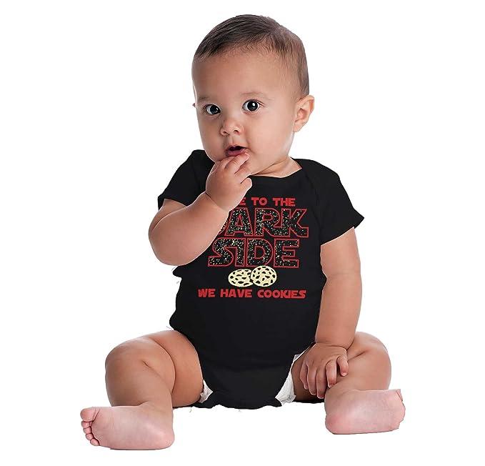 Come to Dark Side Cookies Cute Edgy Star Wars Funny Romper Bodysuit