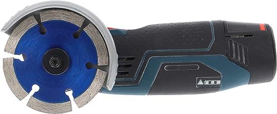 Disco de corte de diamante premium de 75 mm para ladrillo de hormig/ón apto para amoladora angular Bosch GWS 12V-76 universal