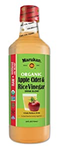 Marukan Apple Cider and Rice Vinegar Drink Blend, 24 Ounce