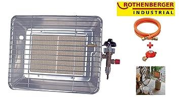 Rothenberger 35984 - Radiador de gas ecológico