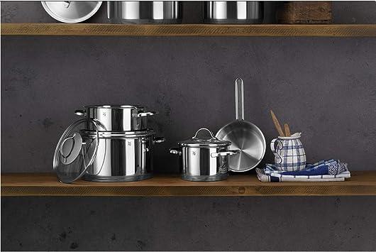 Amazon.com: WMF Provence Plus - Juego de 4 ollas con tapa de ...