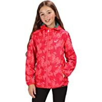 Regatta Printed Lever Waterproof and Breathable Lightweight Hooded