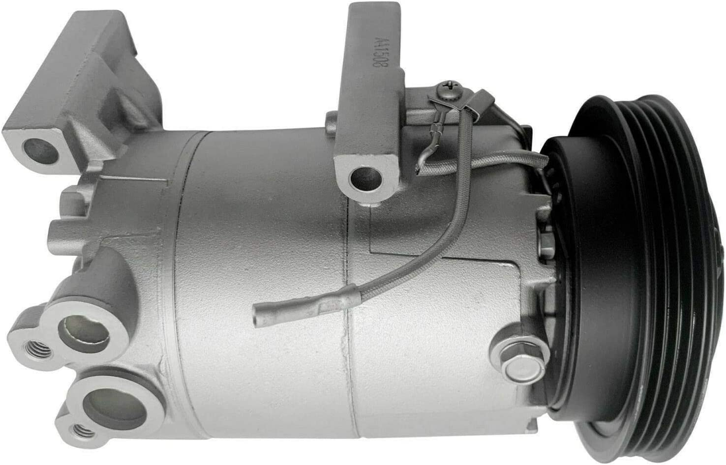 RYC Remanufactured AC Compressor and A//C Clutch AEG389