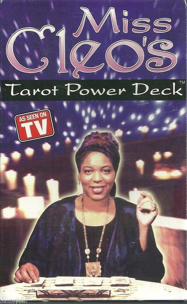 Miss Cleos Tarot Card Power Decks - 4 Pack