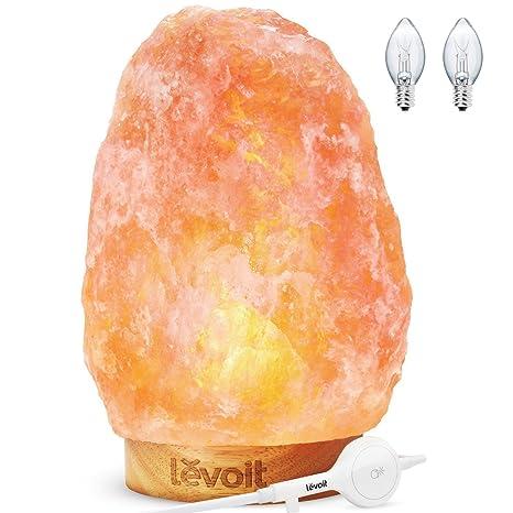 Marvelous Levoit Kana Salt Lamp Himalayan Natural Large Hand Carved Hymalian Pink Salt  Lamps(8