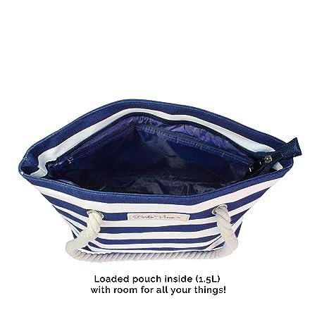 Amazon.com: portovino playa, azul y blanco: Kitchen & Dining