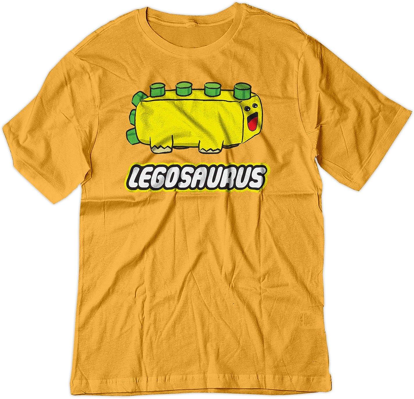 BSW Youth Legosaurus Lego Cute Dinosaur Block Shirt